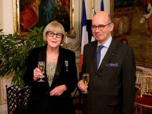 Eva Zaoralová a Pierre Lévy. Foto Miloš Fikejz