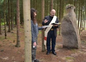 Přivítání knihy Lovci menhirů - Hana Jakovcová a Jiří I. Laňka